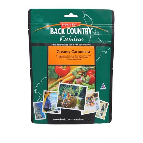 BACK COUNTRY CUISINE - CREAMY CARBONARA