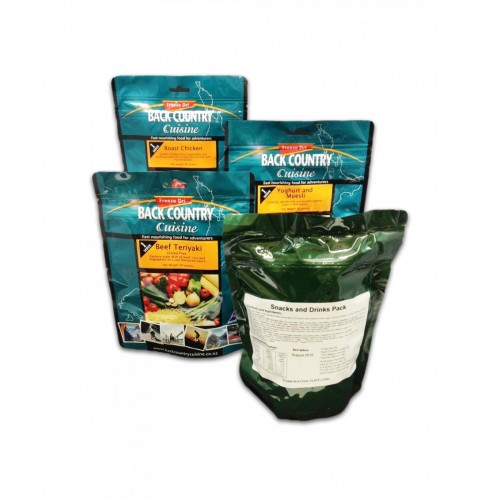 BACK COUNTRY CUISINE - ADVENTURE RATION PACK