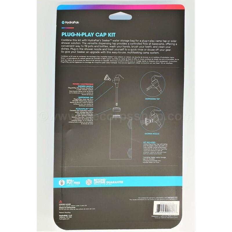 Hydrapak Plug-N-Play Cap Kit